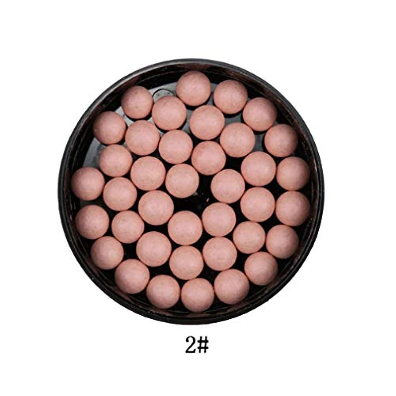 相対サイズどこ価値のない3では1ポータブルブラッシュロングラスティング顔料マットナチュラルフェイスブラッシュボールオイルコントロール輪郭ブラッシュブロンザー
