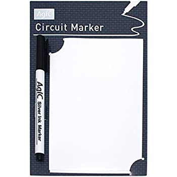 AgIC 回路マーカー&A6回路用紙5枚セット