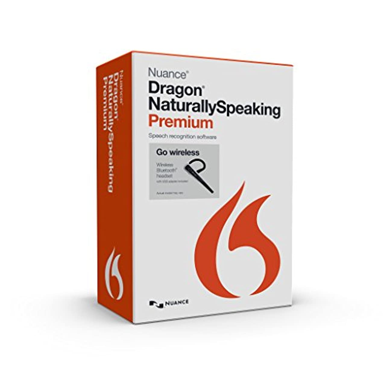 宿泊秋雇うDragon Naturally Speaking Premium 13.0 Wireless Commercial