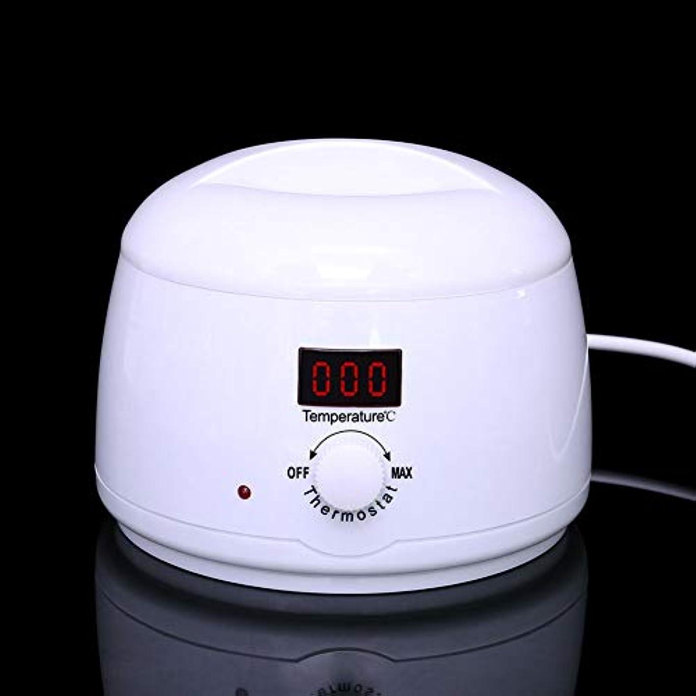 小競り合い群れ味付け調節可能な温度のワックスマシン、女性および男性500CCのための多機能の家のワックスが付いている毛の取り外しのための専門の電気ワックスのウォーマーのヒーターのメルター