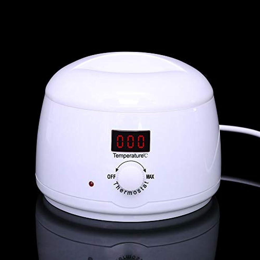 所属プール水没調節可能な温度のワックスマシン、女性および男性500CCのための多機能の家のワックスが付いている毛の取り外しのための専門の電気ワックスのウォーマーのヒーターのメルター