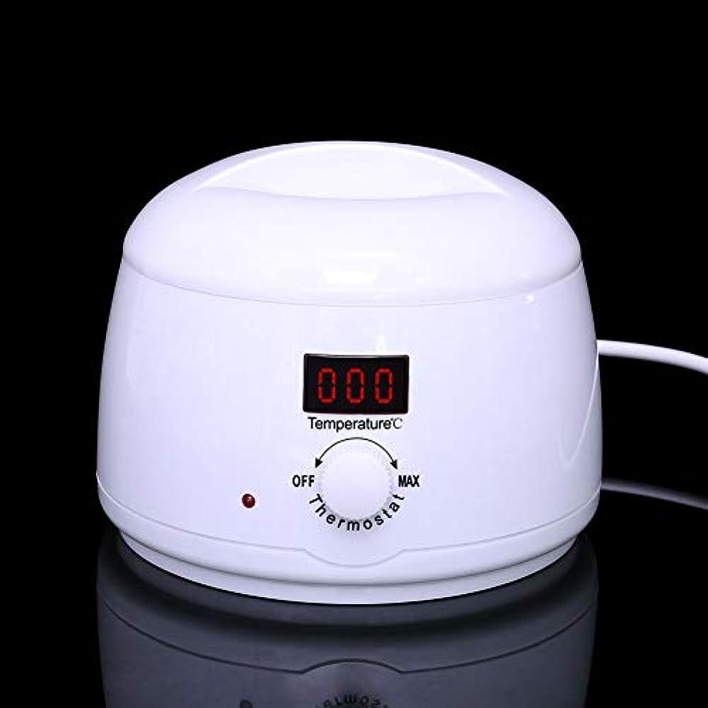 カーペット愛する入射調節可能な温度のワックスマシン、女性および男性500CCのための多機能の家のワックスが付いている毛の取り外しのための専門の電気ワックスのウォーマーのヒーターのメルター