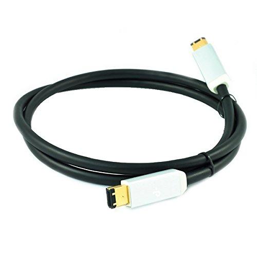 オヤイデ d-FW6x6/1.0  Fire Wire ケーブル 6pin-6pinコネクタ  1.0m
