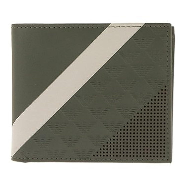 被る瞑想的イデオロギー(エンポリオアルマーニ) EMPORIO ARMANI メンズ 二つ折り財布[並行輸入品]