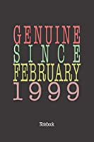 Genuine Since February 1999: Notebook