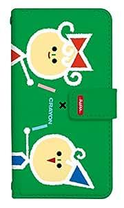 スマホケース 手帳型 アイフォンse 手帳型ケース 8152-C. デザインC iphone5 iphone5s ケース カバー [iPhoneSE] サクラクレパス 柄 クレヨン 柄 クーピー 柄 アイフォンエスイー