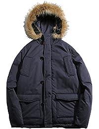 (ティーエヌケーカンパニー)Tnk&Co. メンズ (2色選択) 厚手 N-3B ミリタリー ジャケット #1594 シンプル 無地 モッズ コート アウター ネイビー ピンク