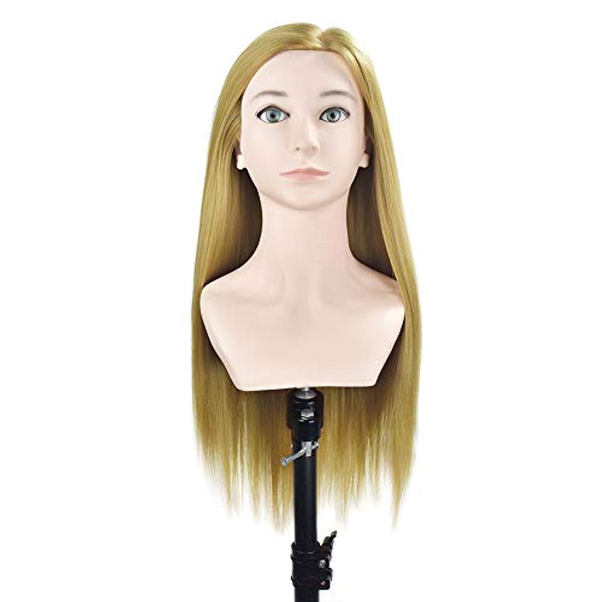 協力取り組む無知サロンの髪の編み物の美容指導の頭スタイリングのヘアカットのダミーヘッドのメイク肩の学習マネキンの頭