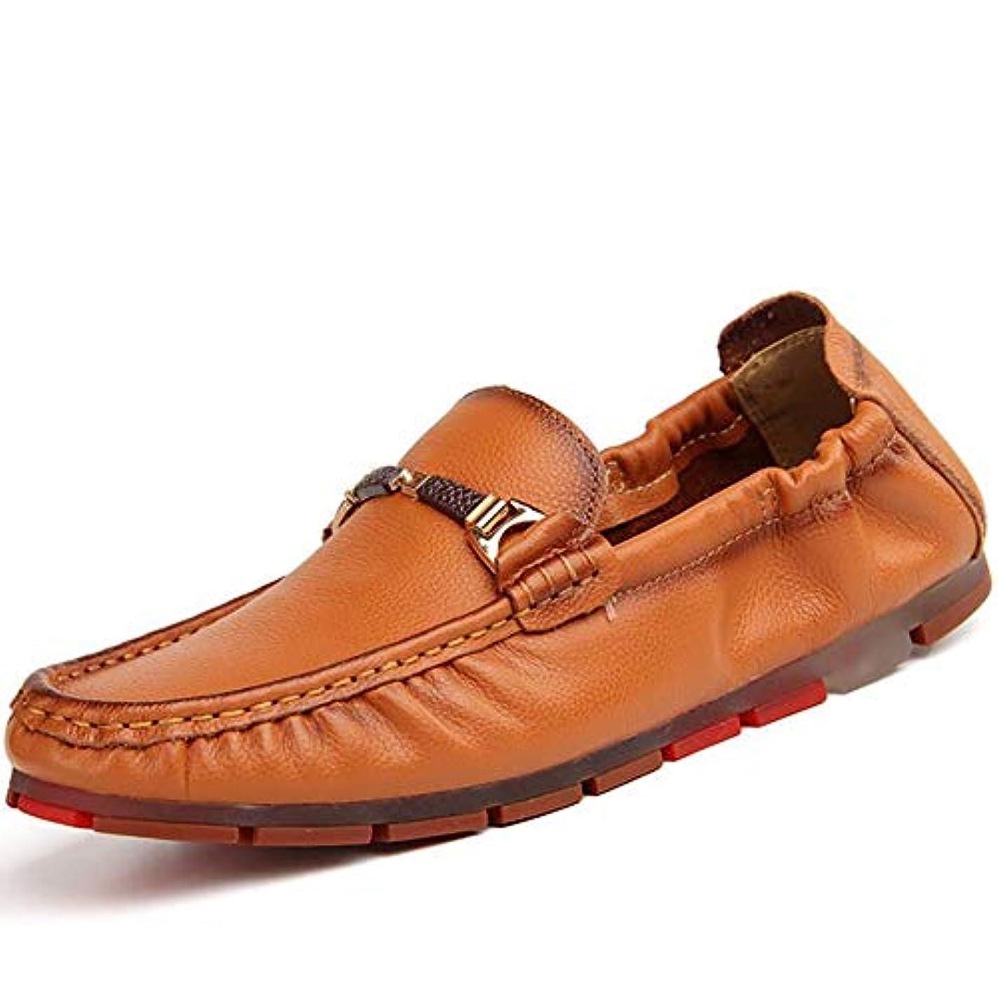 あなたは子光の革の靴新しい男性の靴ライト浅口ビジネス靴エンドウ靴男性フォーマル,A,44