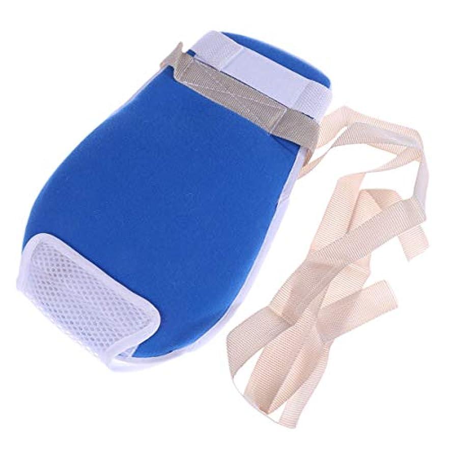 奨学金驚くばかりめったにHealifty 制御手袋耐スクラッチ保護手袋(青)