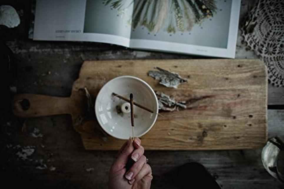 自動おじいちゃん泣いているAll Natural Sage Incense Sticks - 6 Hand Rolled Herbal Incense Sticks [並行輸入品]