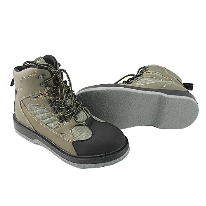 キャプチャー透過性確立メンズ釣り狩猟ワタリの靴通気性防水ブーツアウトドア滑り止めワタリウェーダーブーツ