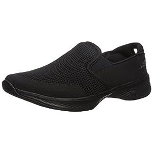 [スケッチャーズ] レディース_スニーカー GO WALK 4-ATTUNED ブラック 24 cm