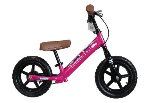 JEFFERYS (ジェフリース) London Taxi キックバイク 12型 足こぎ自転車 ピンク