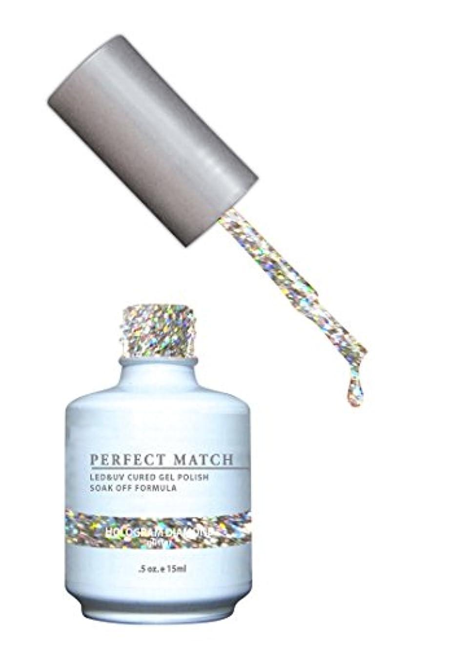 スコアチャームニコチンLeChat LECHATパーフェクトマッチマニキュア、 ホログラムダイヤモンド