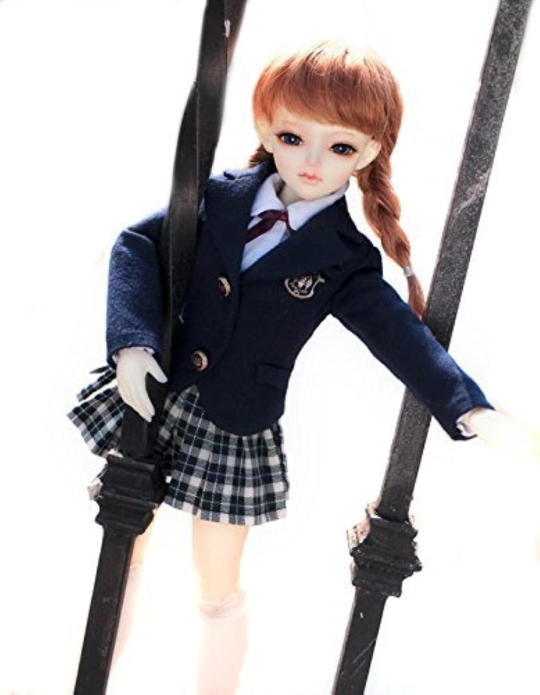 docamall Girls Academy Uniform Set for 1 / 4 BJD Dollfie人形