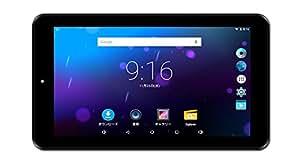 KEIAN 7インチ クアッドコア メモリ512MB 1024×600 IPS液晶 Android 5.1タブレット ブラック KPD728R PRO
