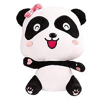 パンダぬいぐるみ プレゼント かわいい 動物 人形 ふわふわ アニマル くま 可愛い熊 (ピンク)