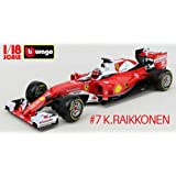 キミ・ライコネン フェラーリF1カー 2016年度使用車