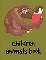 Children Animals Book: Children Coloring and Activity Books for Kids Ages 3-5, 6-8, Boys, Girls, Early Learning (American Animals)