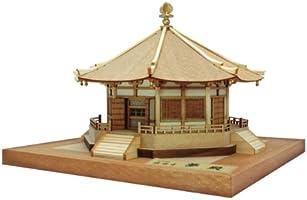 ウッディジョー 1/150 法隆寺 夢殿 木製模型 組立キット