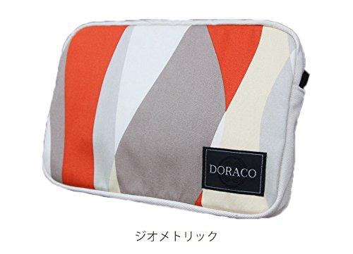 DORACOおむつポーチ オムツポーチにもOKな大きさのクラッチバッグ! (ジオメトリック)