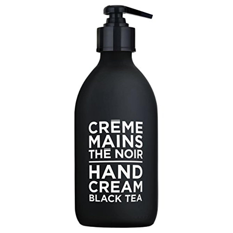 争い不快なうめきカンパニードプロバンス ブラック&ホワイト ハンドクリーム ブラックティー(ブラックティーにフルーティなベリーが調和した穏やかな香り) 300ml