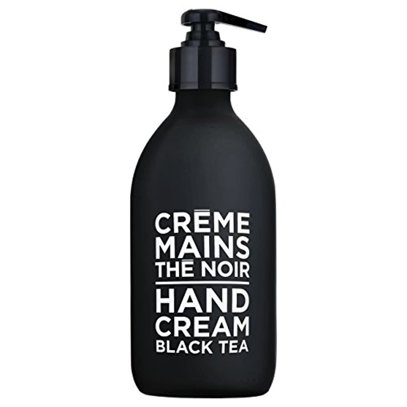 チャート落ち着いて動かすカンパニードプロバンス ブラック&ホワイト ハンドクリーム ブラックティー(ブラックティーにフルーティなベリーが調和した穏やかな香り) 300ml