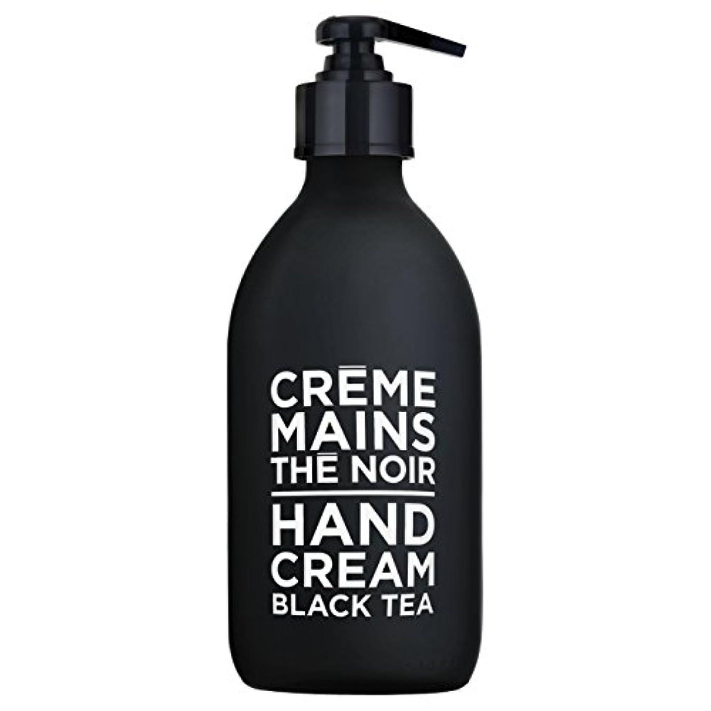 連続した助言する与えるカンパニードプロバンス ブラック&ホワイト ハンドクリーム ブラックティー(ブラックティーにフルーティなベリーが調和した穏やかな香り) 300ml