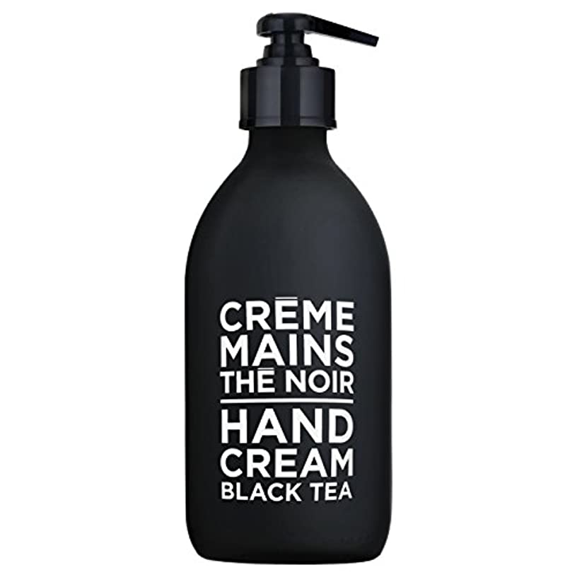 分注する同性愛者衝突コースカンパニードプロバンス ブラック&ホワイト ハンドクリーム ブラックティー(ブラックティーにフルーティなベリーが調和した穏やかな香り) 300ml