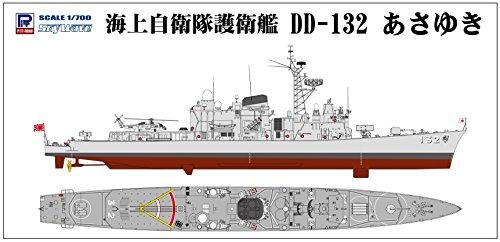 ピットロード スカイウェーブシリーズ 1/700 海上自衛隊護衛艦 DD-132 あさゆき プラモデル J78