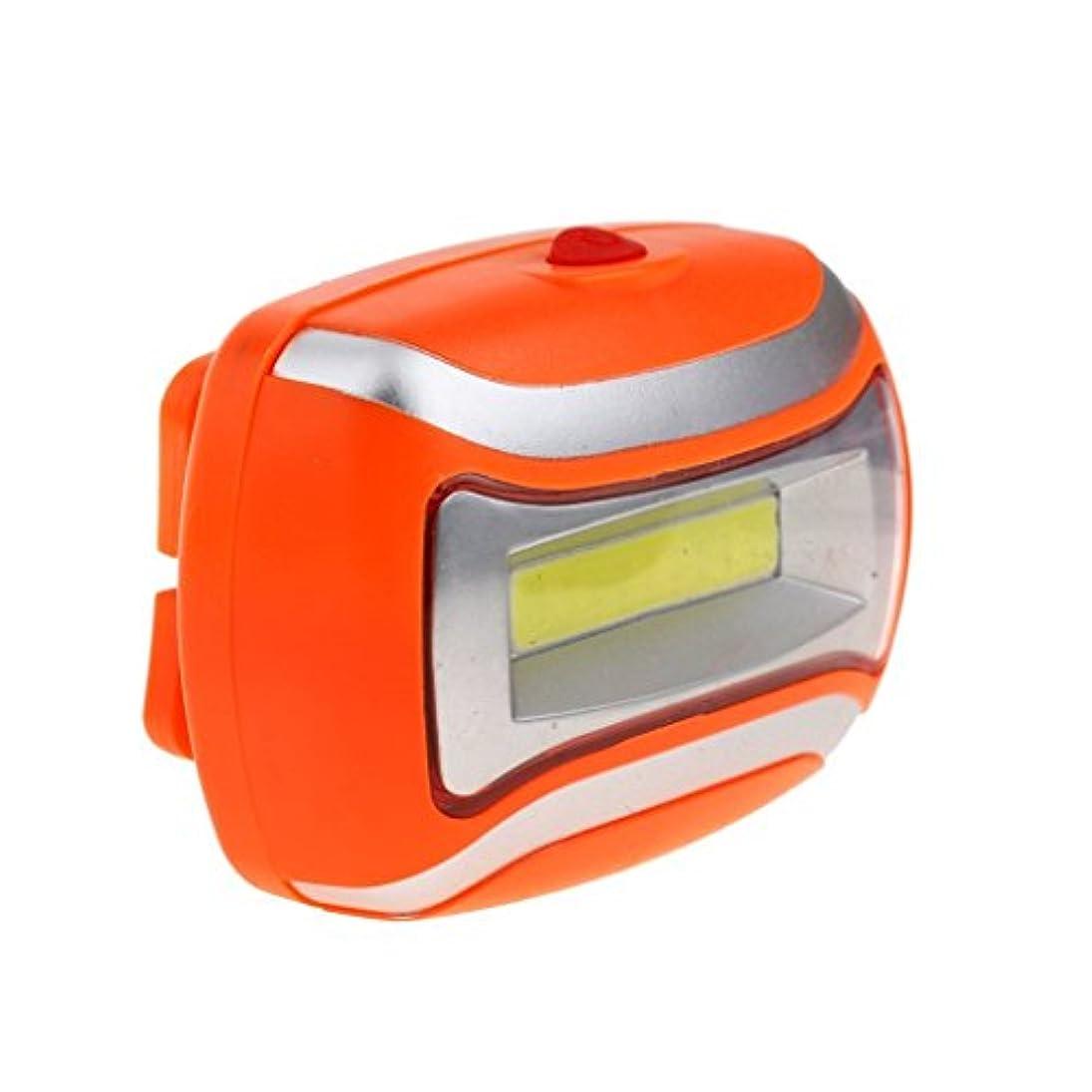 安全毛布はっきりしないOutfun 防水 600LM COB ヘッドライト 3W LED ライト アウトドア サイクリング ヘッド ランプ