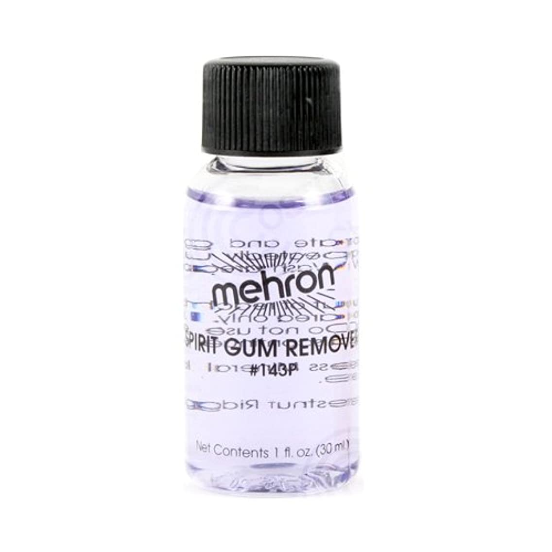 満州ガレージ運命(6 Pack) mehron Spirit Gum Remover (並行輸入品)