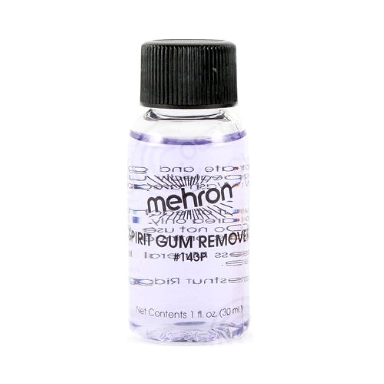 同封する漂流熱意(3 Pack) mehron Spirit Gum Remover (並行輸入品)