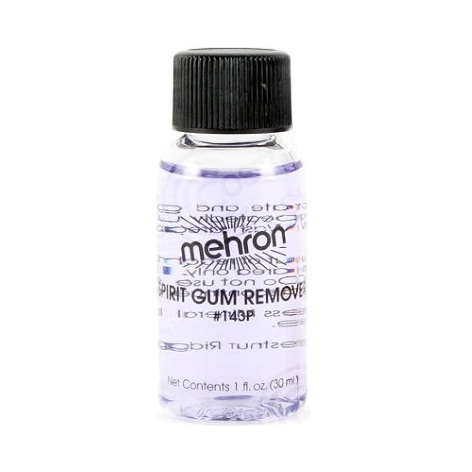 葡萄の慈悲でファックス(6 Pack) mehron Spirit Gum Remover (並行輸入品)