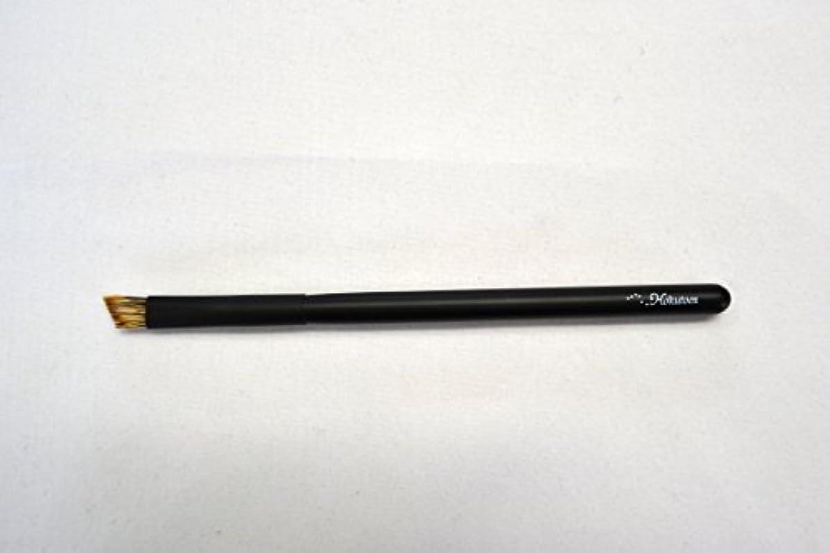 楽な舞い上がる薄い熊野筆 北斗園 Kシリーズ アイブロウブラシ(黒)