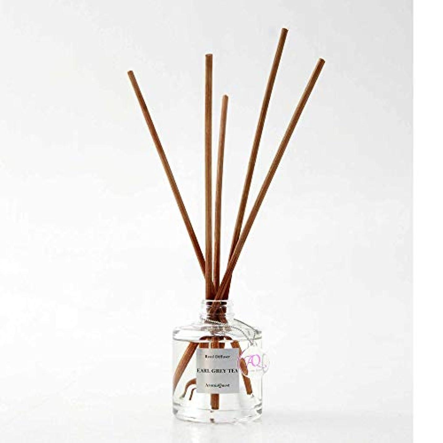 余剰飾るソケットルームフレグランス リードディフューザー アロマディフューザー 150ml アールグレイティー EARL GREY TEA 紅茶の香り(箱?紙袋なし)