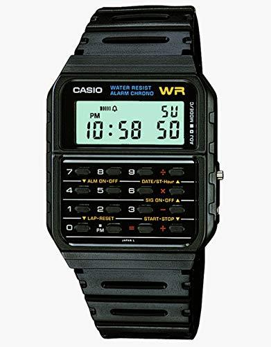 [カシオスタンダード]CASIO STANDARD 【カシオ】CASIO STANDARD スタンダード CA-53W-1Z ブラック メンズ腕時計【逆輸入モデル】 CA-53W-1Z メンズ 【逆輸入品】