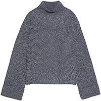 Zara Women High Neck Sweater 1198/151 Grey