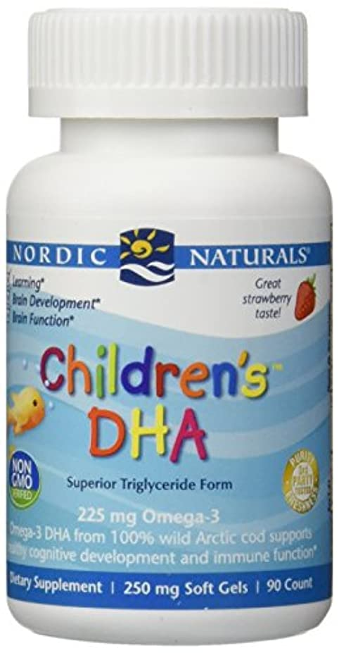 野菜北東ホイップ海外直送品Nordic Naturals Children''s DHA Strawberry, Strawberry 90 softgels 250 mg