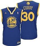 adidas スポーツウェア Stephen Curry Golden State Warriors Blue NBA Kids Revolution 30 Replica Jersey (Kids 4)