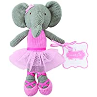 KNIT ELEPHANT BALLERINA DOLL