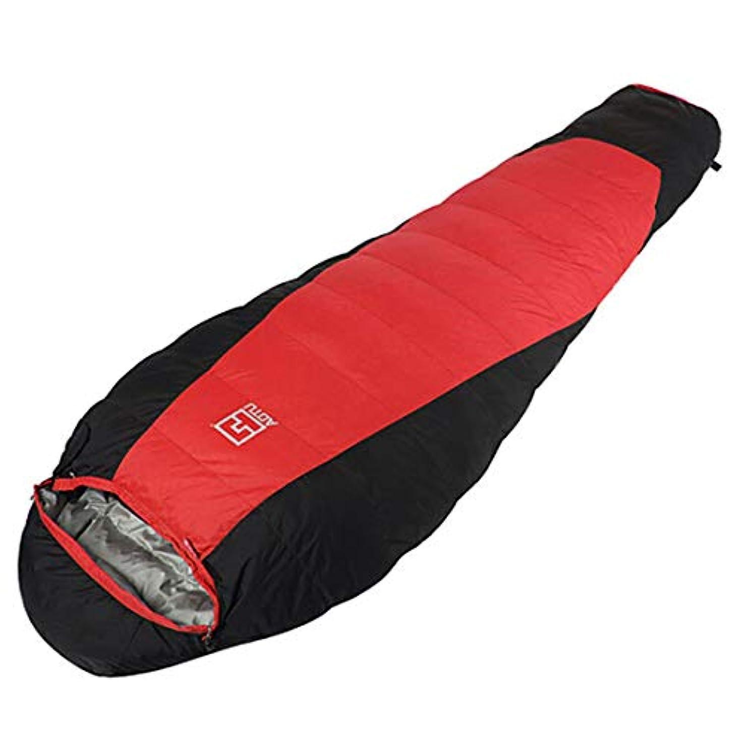 下にパス考えたLilyAngel キャンプミイラの寝袋軽量ポータブル防水快適なコンプレッションサック - 2シーズンハイキングアウトドアアクティビティ