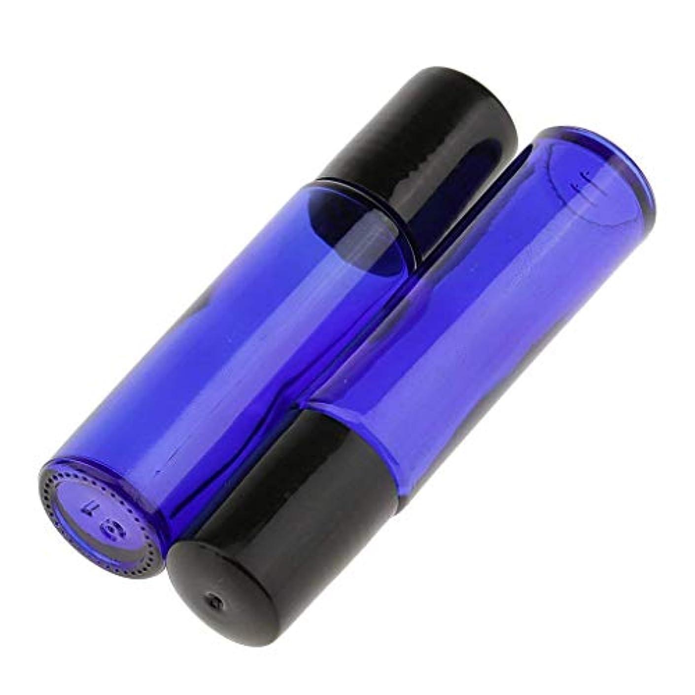 本物洗練された虫ロールオンボトル 遮光瓶 ガラスロールタイプ 2 本セット