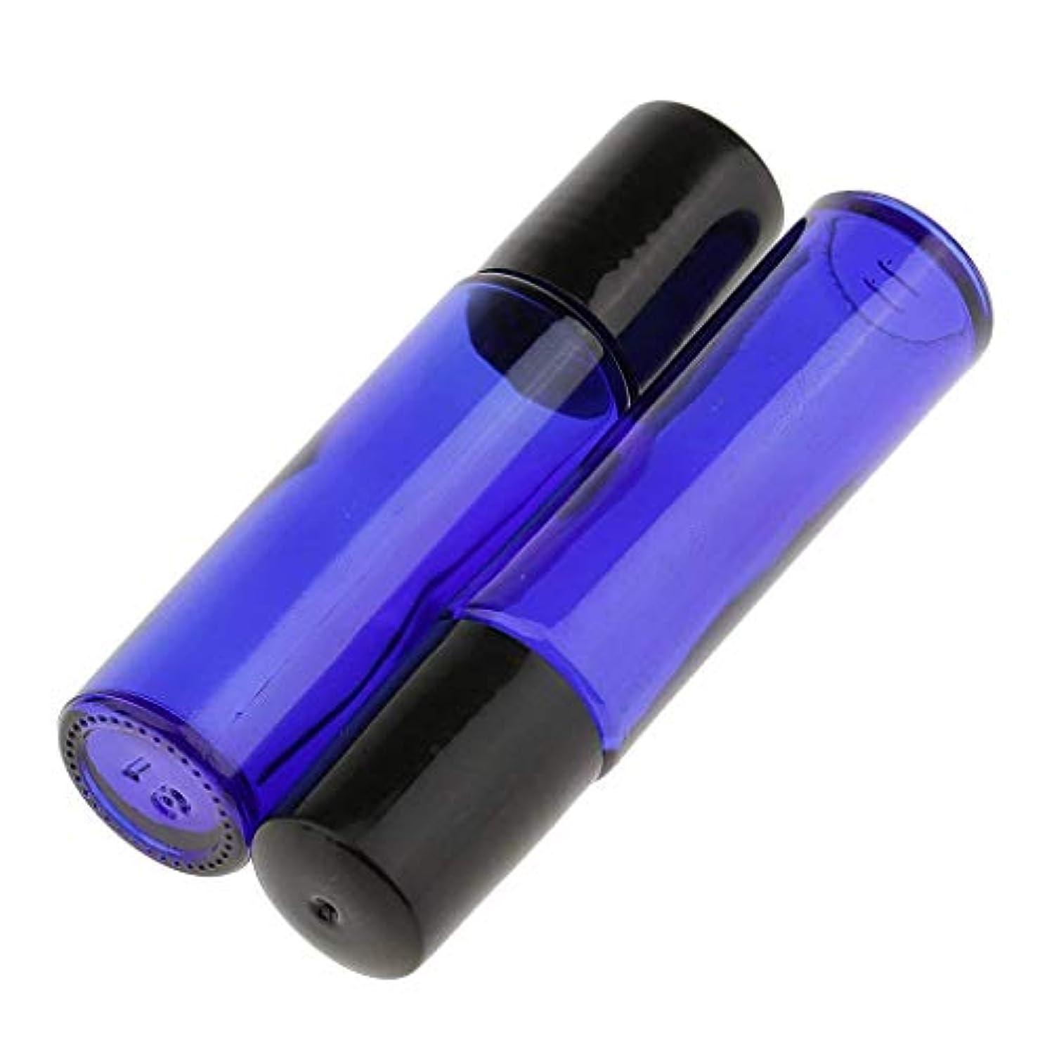 凍結代名詞スカルクロールオンボトル 遮光瓶 ガラスロールタイプ 2 本セット