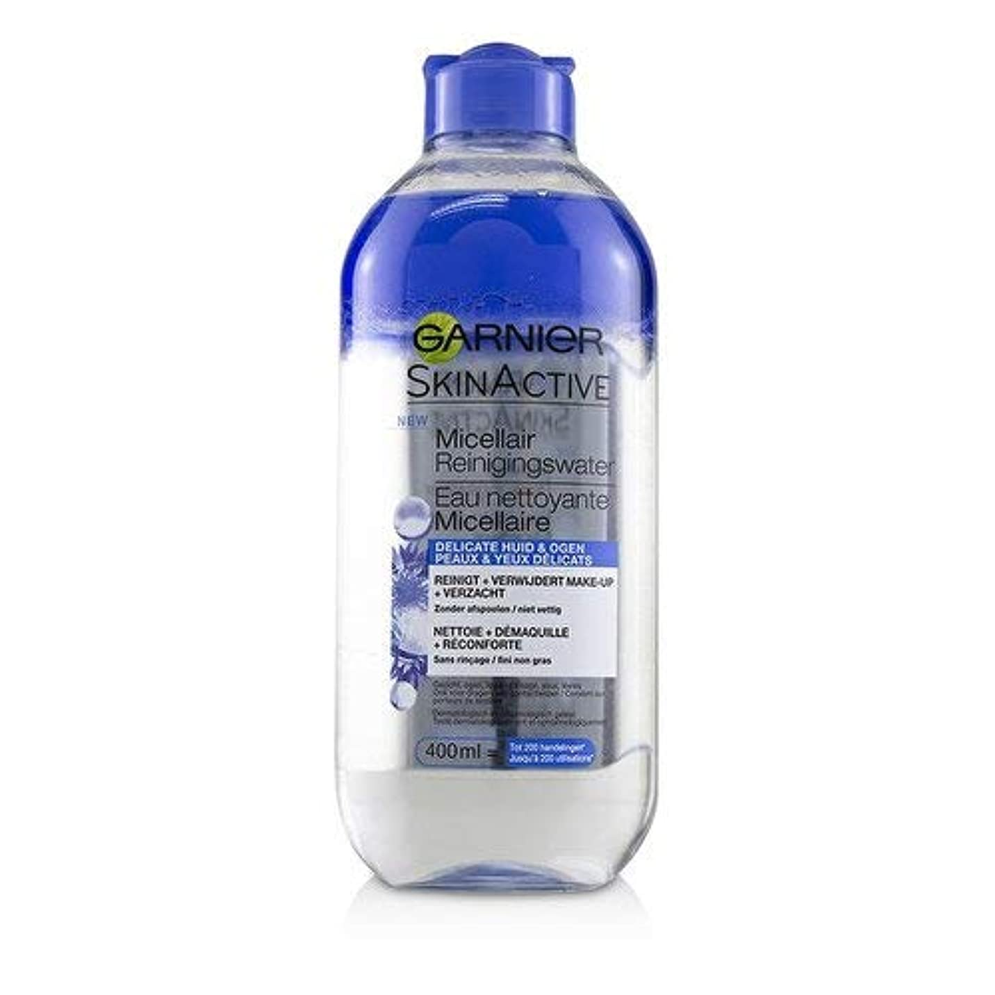 参照国読みやすいガルニエ SkinActive Micellar Water (For Face & Eyes) - For Delicated Skin 400ml/13.3oz並行輸入品