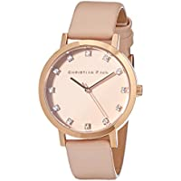Christian Paul Women LPR3506 Year-Round Analog Quartz Pink Watch
