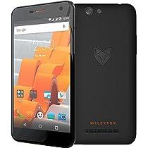 Wileyfox Spark Plus 4G, Unlocked Dual SIM-Free, Android Smartphone - Black [並行輸入品]