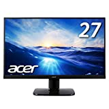 Acer モニター ディスプレイ KA270HAbmidx 27インチ/フレームレス/VA/HDMI端子対応/スピーカー内蔵/ブルーライト軽減