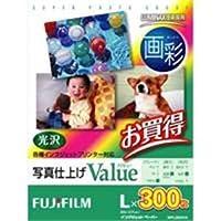 (業務用30セット) 富士フィルム FUJI 画彩 写真仕上げValue WPL300VA L判 300枚 ds-1731449